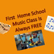 Pastor Bob's First Home School Music Class is Free