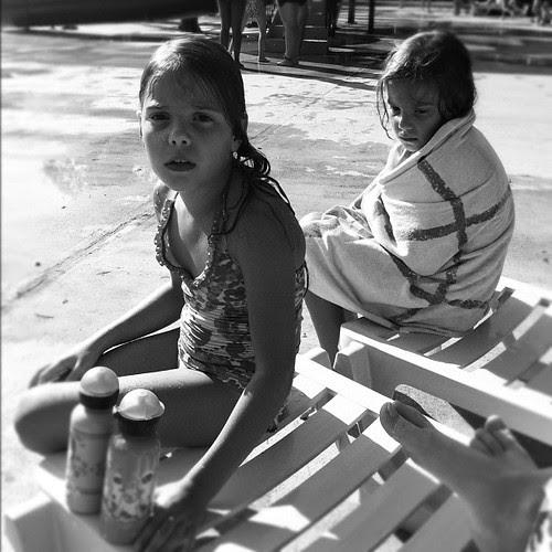 Chilling out @KP pool #lastdaysofsummer #hotoutside