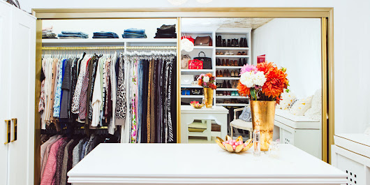 11 Ways To Create A Luxurious Closet For Less