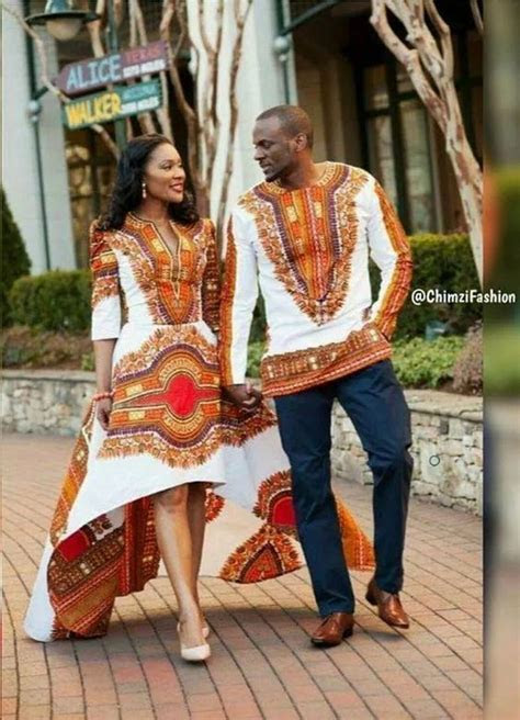 african attire dresses  couples