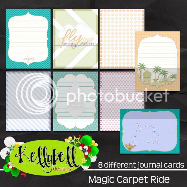 Magic Carpet Ride Journal Cards