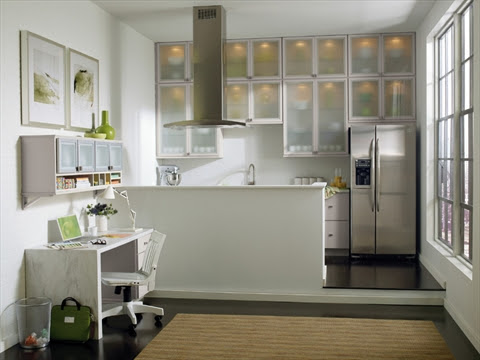 Super kitchens: stove, sink, fridge ... and Wi-Fi countertop?
