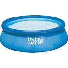 Intex Easy Set Above Ground Pool with Filter Pump, Blue