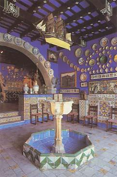 Sala del brollador al Cau Ferrat