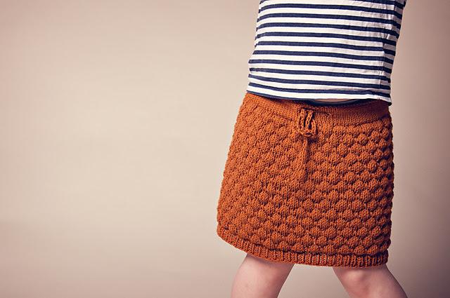 Jupe tricotée enfant