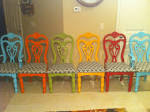 Colorful Dining Room Chairs: Colorful Dining Room Chairs Picture ...
