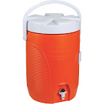 Rubbermaid 12 qt. Water Cooler Orange