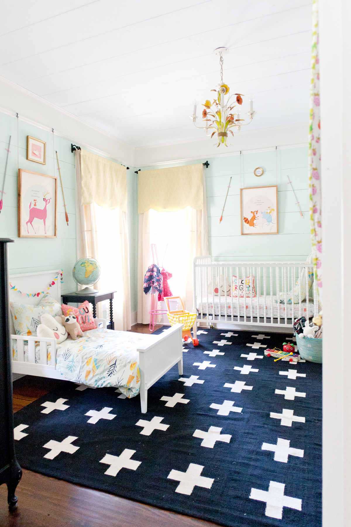 Inspiration Shared Nursery And Toddler Rooms 3a Design Studio