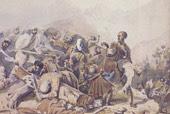 Эпизод из сражения при Валерике. 1840 г.)