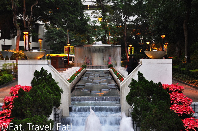 Pathway to the Fountain