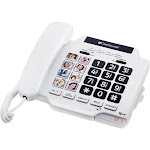 ClearSounds CSC500 Amplified Spirit Phone - White