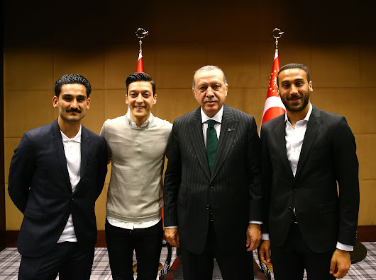 Mesut Ozil breaks silence over meeting with Turkish president Erdogan