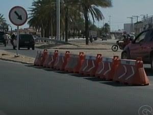 PRF de Petrolina instalou clones para evitar acidentes (Foto: Reprodução/ TV Grande Rio)