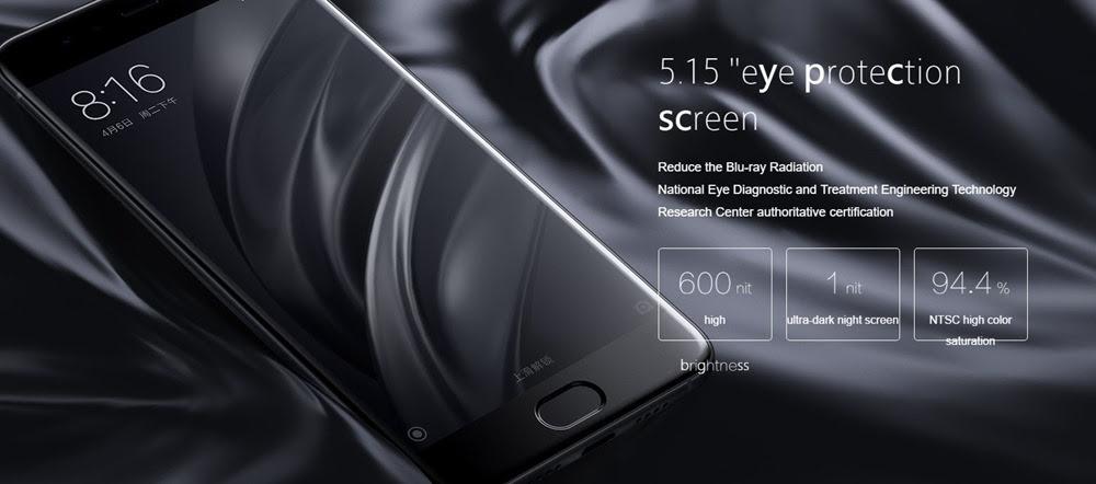 MI 6 Screen
