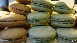 Macaroons in a Parisian bakery (generic image)