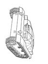 Tank Boyama ücretsiz Boyama Resimleri
