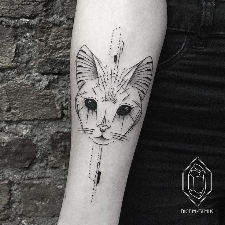 Geometric Tattoo November New York City Golden Arrow Street