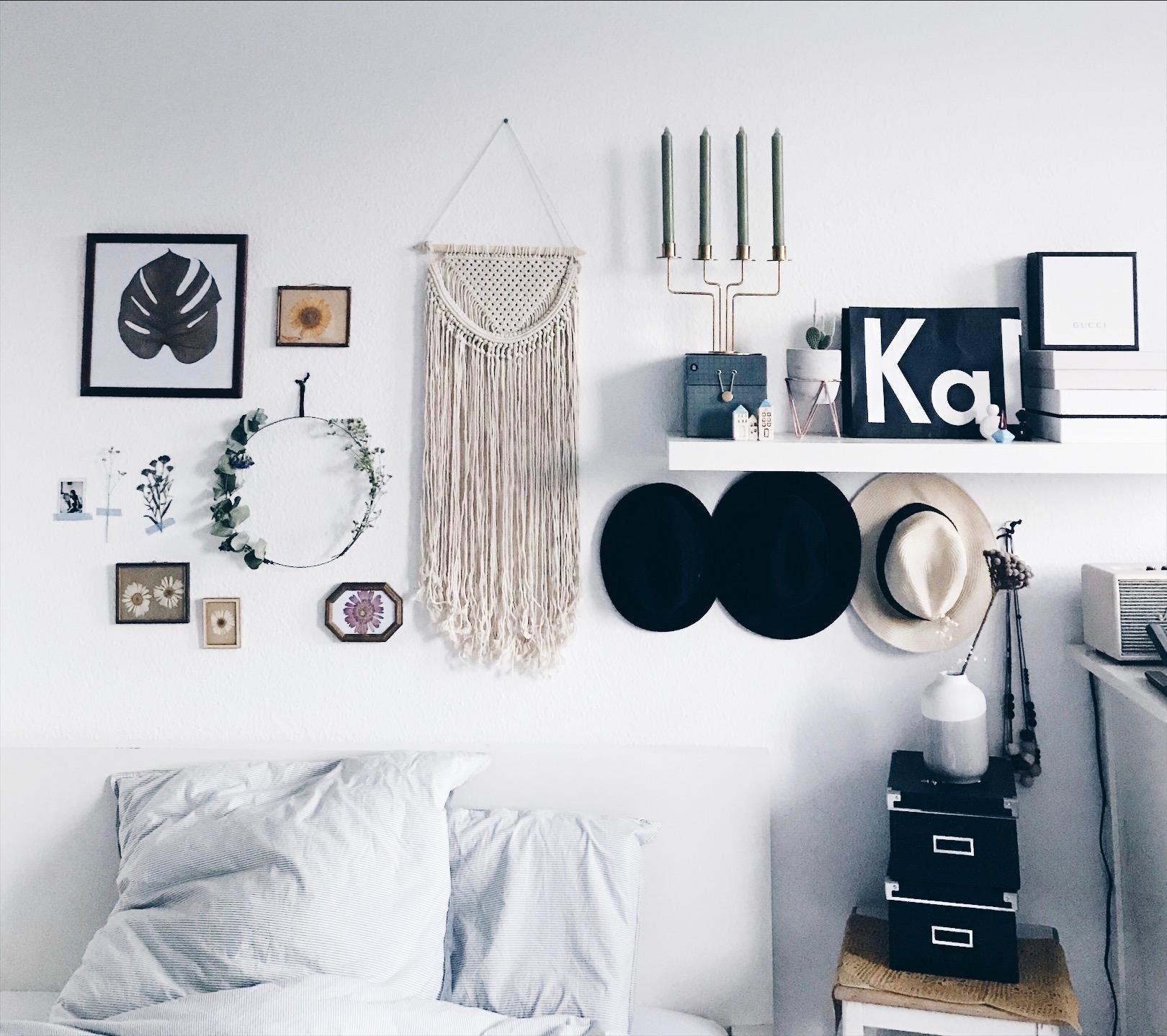 schlafzimmer wanddeko ideen wanddekoration holz bilder