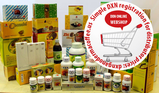DXN USA online order on retail or distributor price
