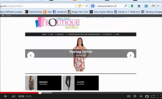 3 Tools You Need to Start an Online Boutique with Wordpress (Video) - Online Boutique Source