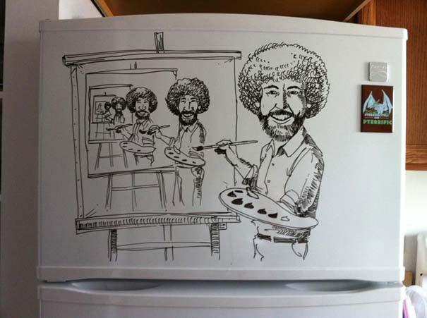 Ζωγραφική... στο ψυγείο (1)