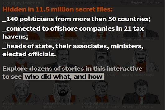 Panama Papers data leak exposes Worlds largest global corruption