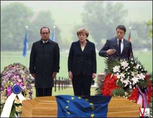 EUROPA ADDIO - HOLLANDE MERKEL RENZI 0076