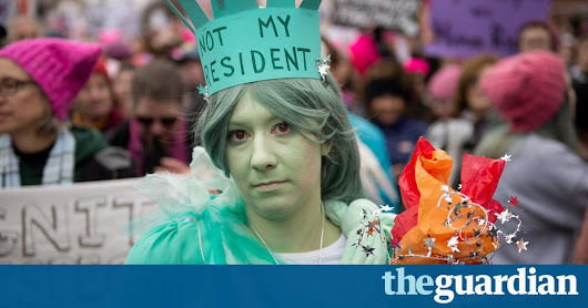 US government demands details on all visitors to anti-Trump protest site | World news | The Guardian