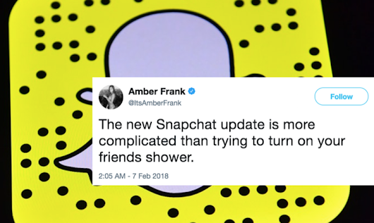 Why Snapchat isn't Going to Snap Back to its Original Format