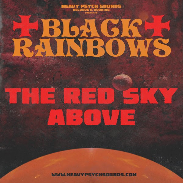 Black Rainbows -The Red Sky Above Single Cover