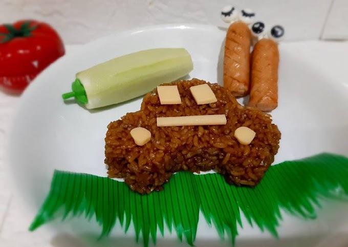 Resep 48. Kids Fried Rice Cita Rasa Tinggi