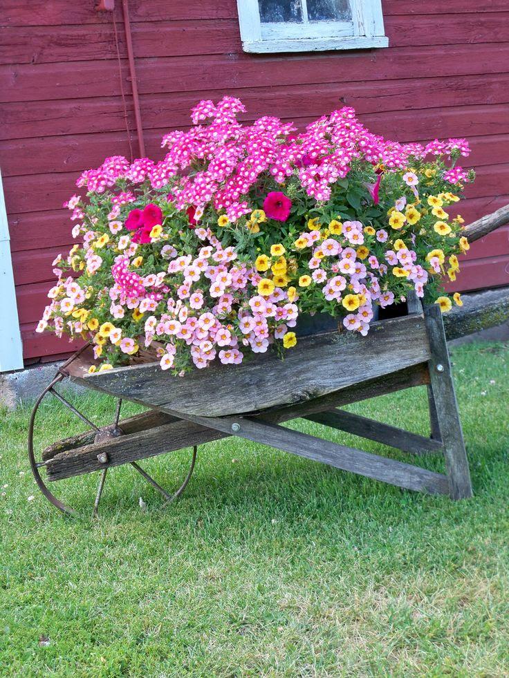 Grandpa Walt Brockpahler's old wheelbarrow