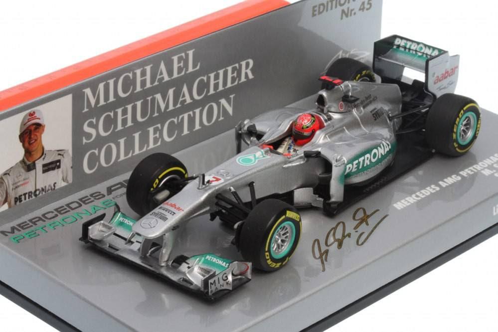 MERCEDES AMG Petronas F1 Team Showcar 2012 - Michael ...