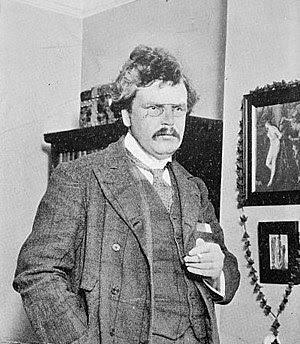 Gilbert Keith Chesterton, (b. 29 May 1874 – d.