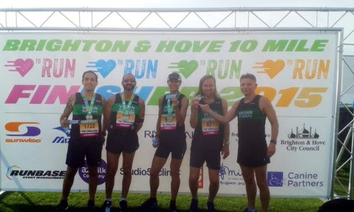 The 1st Brighton and Hove 10 Mile | Vegan Runners UK