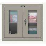 "Hallowell 405-3630Sva-Hg Wall Cabinet,30"" H,36"" W,gray"