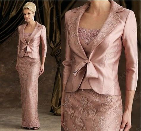 elegant mother  bride wedding evening formal dress
