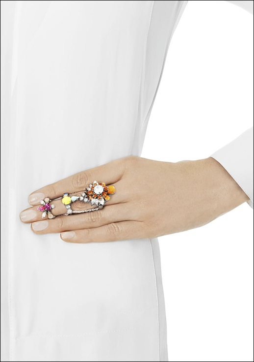 LE FASHION BLOG JEWELRY POST SHOUROUK CHAIN LINK STATEMENT RINGS BERNADETTE CHAIN LINK RING BRIGHT CLUSTERED CRYSTALS 2 photo LEFASHIONBLOGJEWELRYPOSTCHAINLINKSTATEMENTRINGS2.png