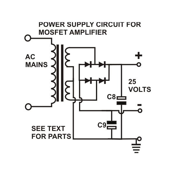 do it by self with wiring diagram  simple mosfet amplifier pcb circuit