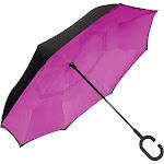 ShedRain UnbelievaBrella Reversible Stick Umbrella - Hot Pink - Umbrellas