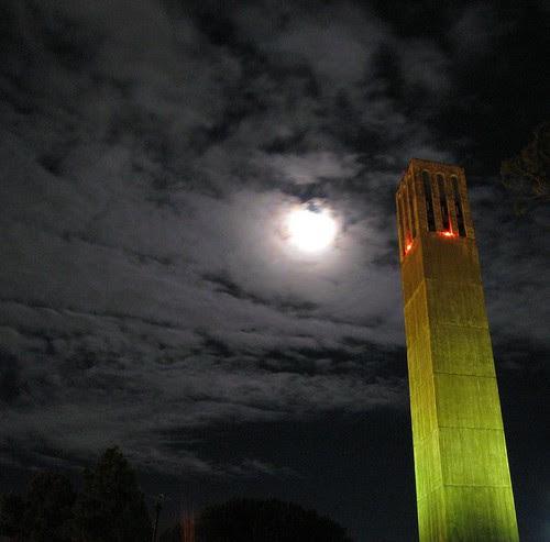Moonrise Over UCSB