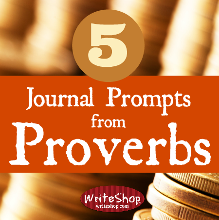 5 journal prompts from Proverbs