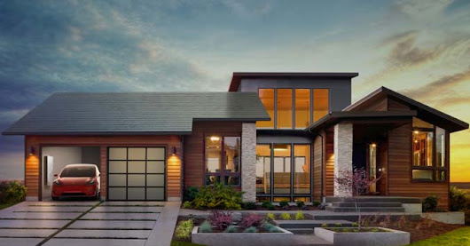 The Ultimate Offgrid Power Solution? Tesla to start selling Solar Roof Shingles