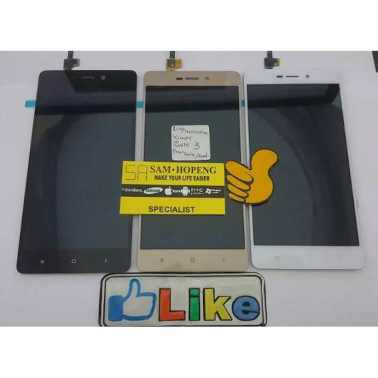 Harga Xiaomi Redmi Mi Note 3 LCD + Touchscreen / Digitizer / Gorilla Glass