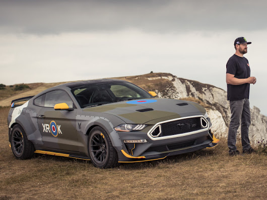 Vaughn Gittin Jr Discusses the Military Tribute Mustang GT | Torque News