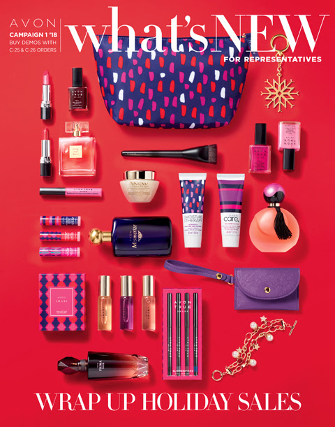Avon What's New C12018 | Be the Best You Can Be Beauty Blog