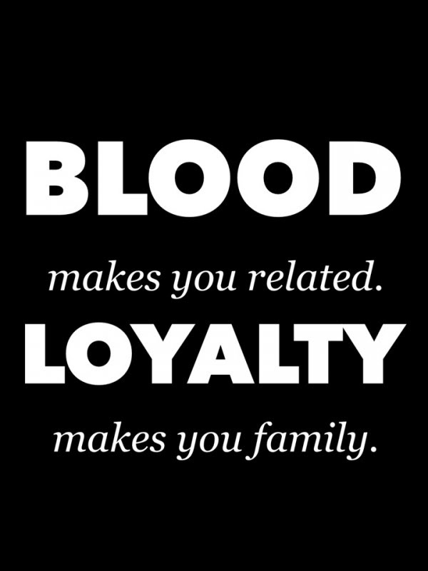 Family Doesnt Have To Be Blood Quote Quote Number 689839 Picture