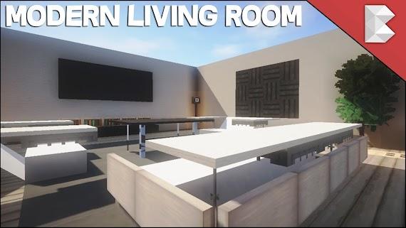 Top Minecraft Interior Design Living Room