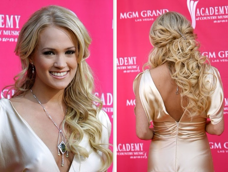 Long Hairstyles Half Updos Fashion By Nessy