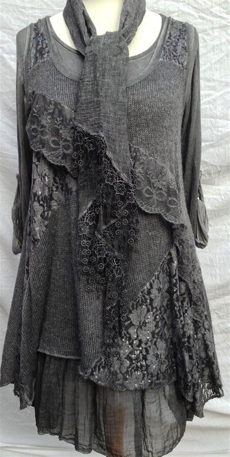 italian layering lagenlook quirky layering  piece dress